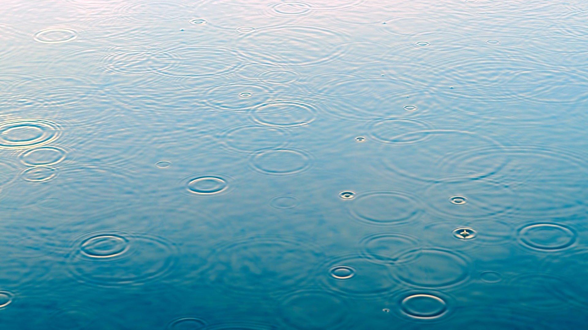 Wasser für die spätere Verwendung