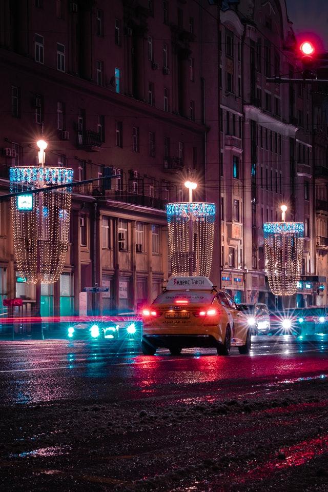 Fahrzeug Werbung